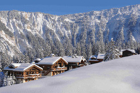 Ski in and ski out luxury chalets