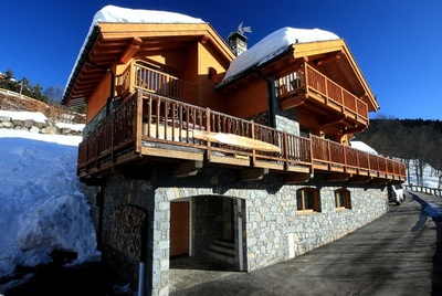 Luxury chalets in Meribel village, chalet Iamato