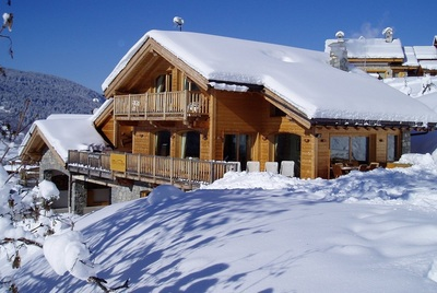 Luxury chalets in Meribel village, chalet Infusion