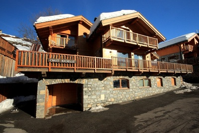 Luxury chalets in Meribel village, chalet Rachelle