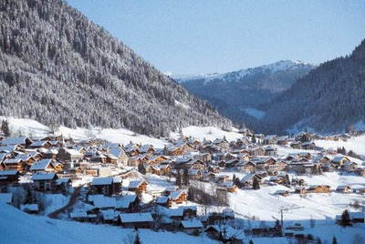 Luxury properties in Chatel resort, France