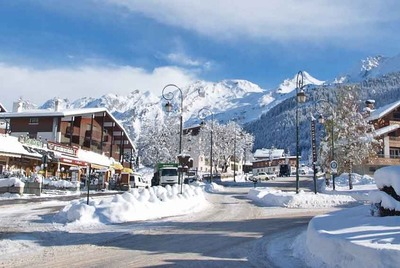 Luxury chalets and hotels in La Clusaz resort in France