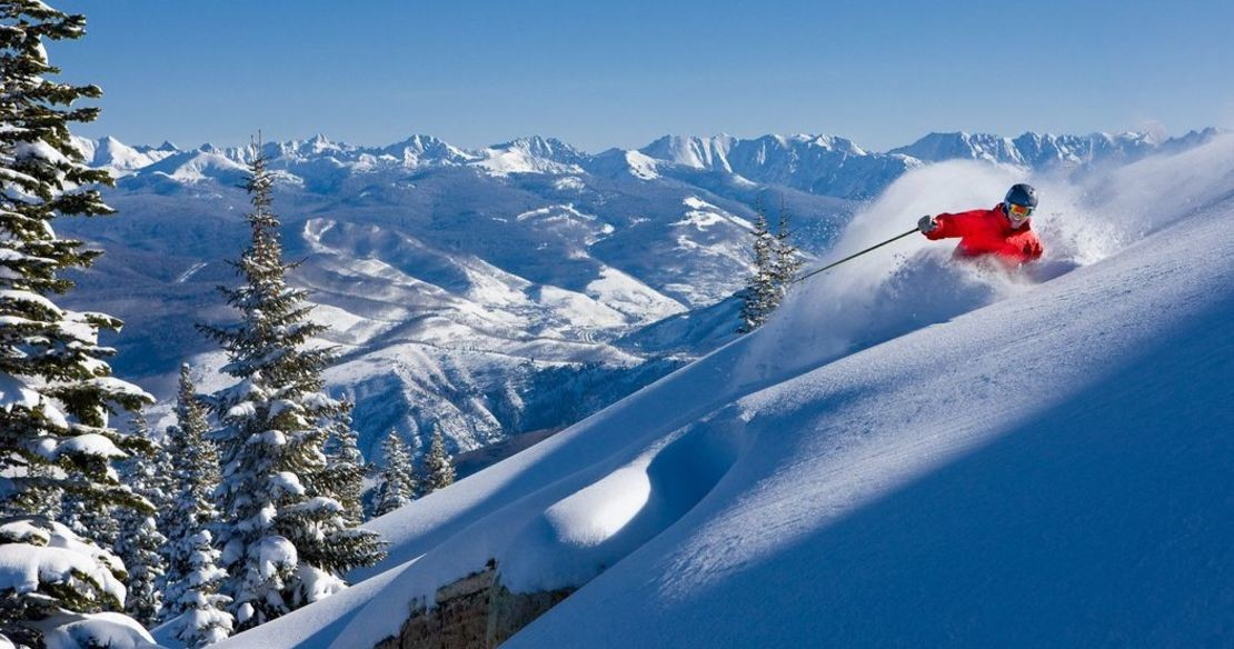 Luxury chalets and hotels in Beaver Creek resort, USA