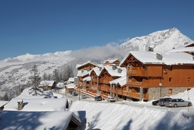 Luxury chalets in Ste Foy France
