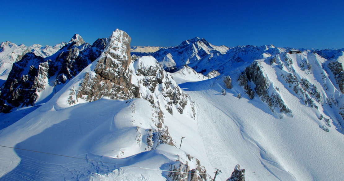 St Anton resort guide - some of the best off-piste terrain in the Alps