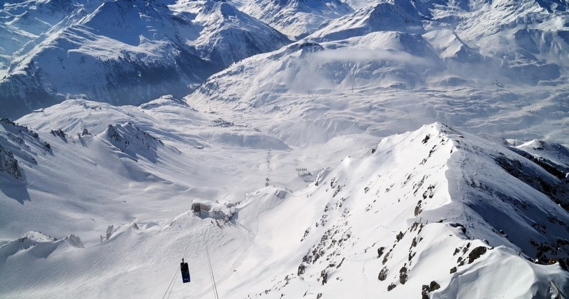 St Anton resort guide - fantastic views from the top of the Valluga Mountain