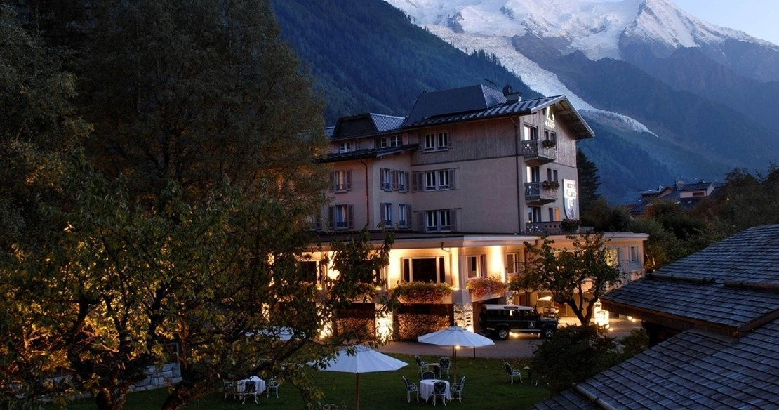 Luxury hotel 1er Albert in Chamonix, France