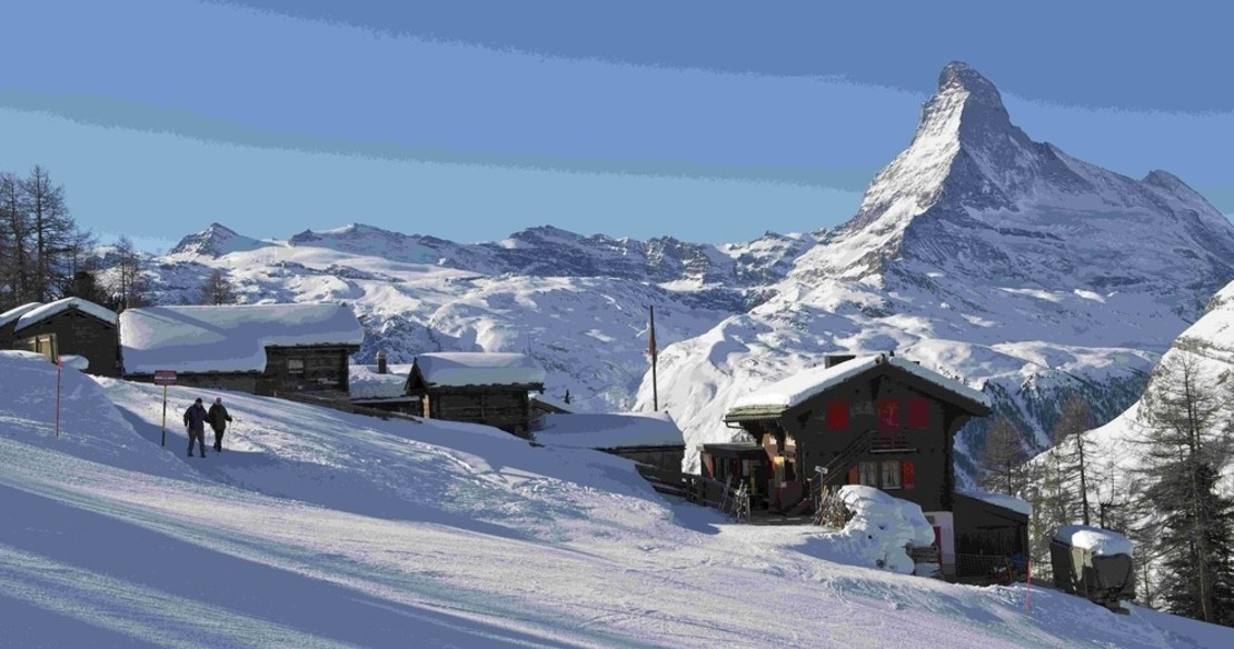 Luxury ski resort Zermatt
