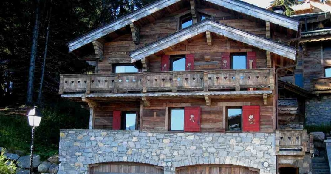 luxury chalet in Courchevel, Chalet Chinchilla