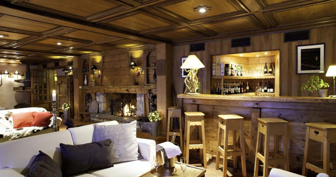 Luxury hotel Roches Fleuries, Megeve France