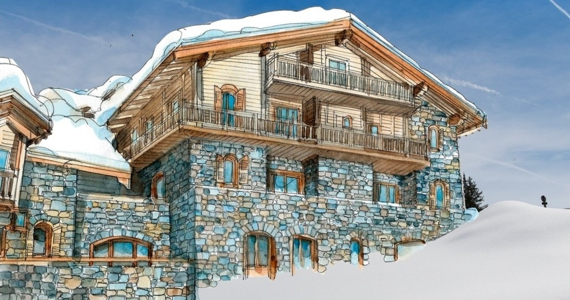 Luxury Hotel L'Apogee in Courchevel 1850 France