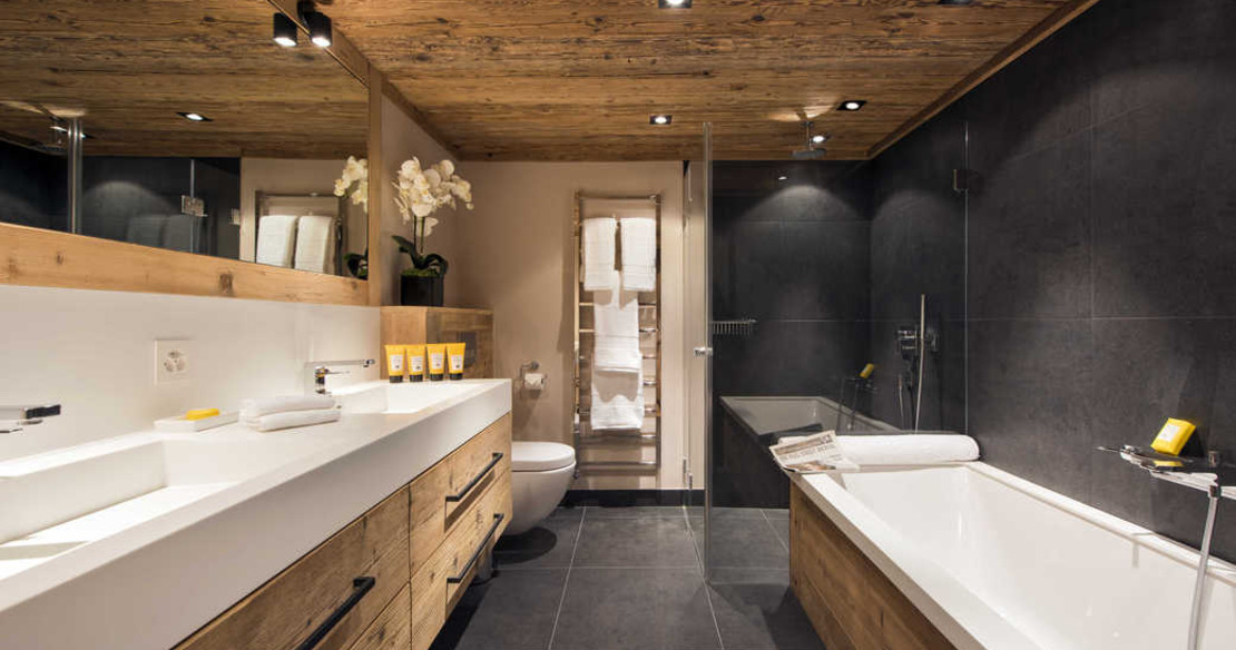 The Alpine Estate Verbier - Chalet Sirocco bathroom