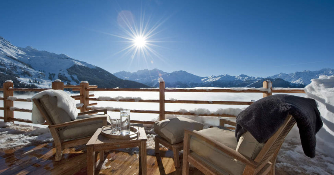 The Alpine Estate Verbier - Chalet Norte view