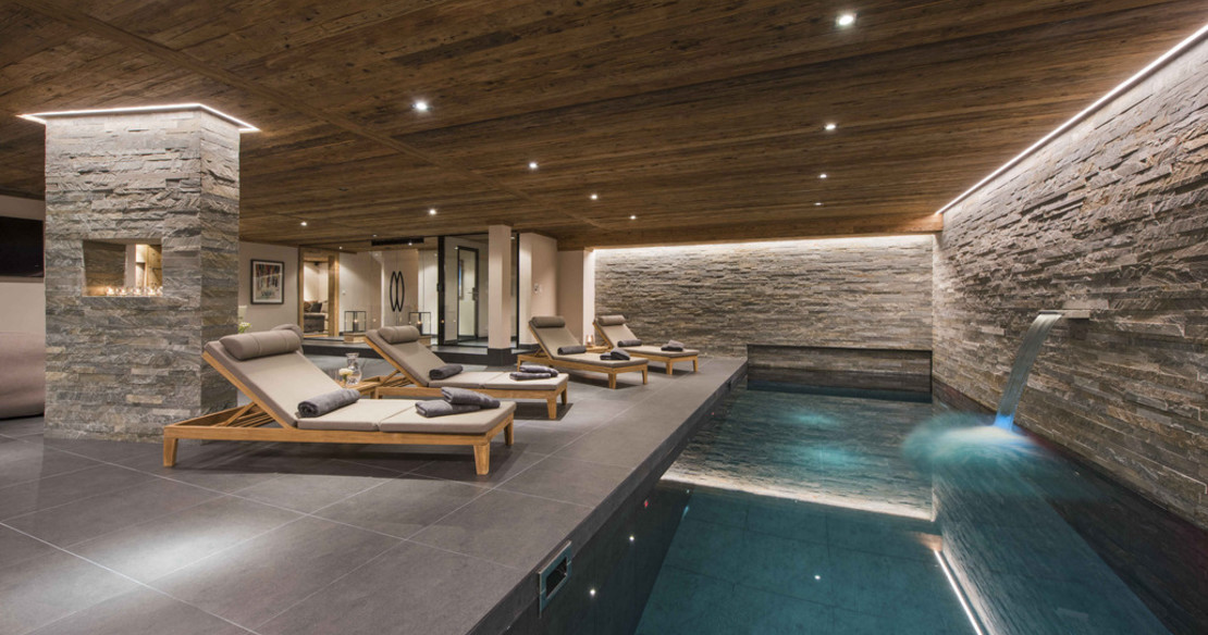 The Alpine Estate Verbier - Chalet Sirocco pool
