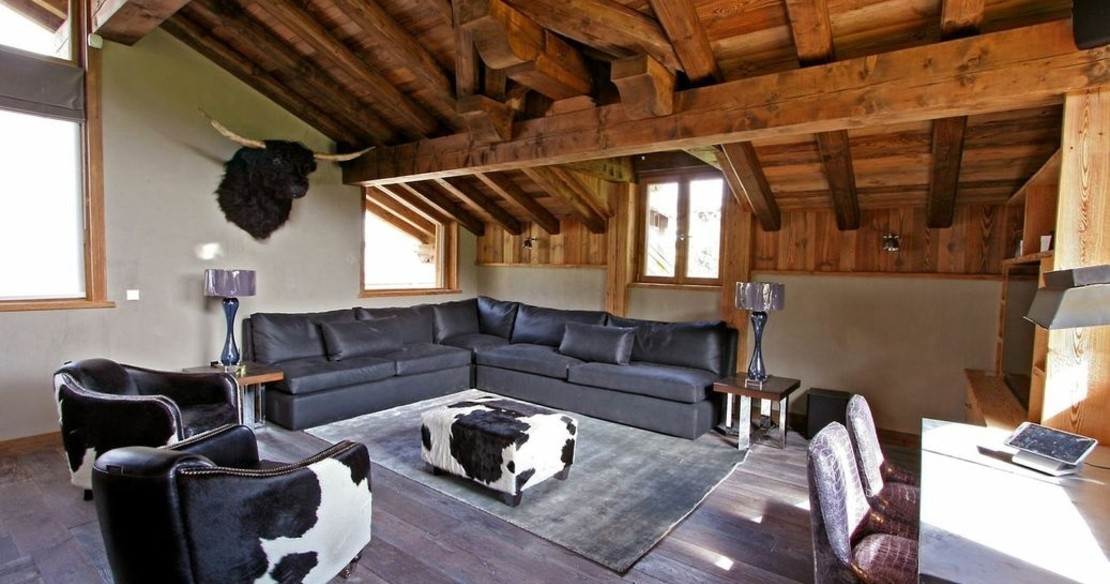 Chalet Dulcis Casu Courchevel Le Praz - sitting room