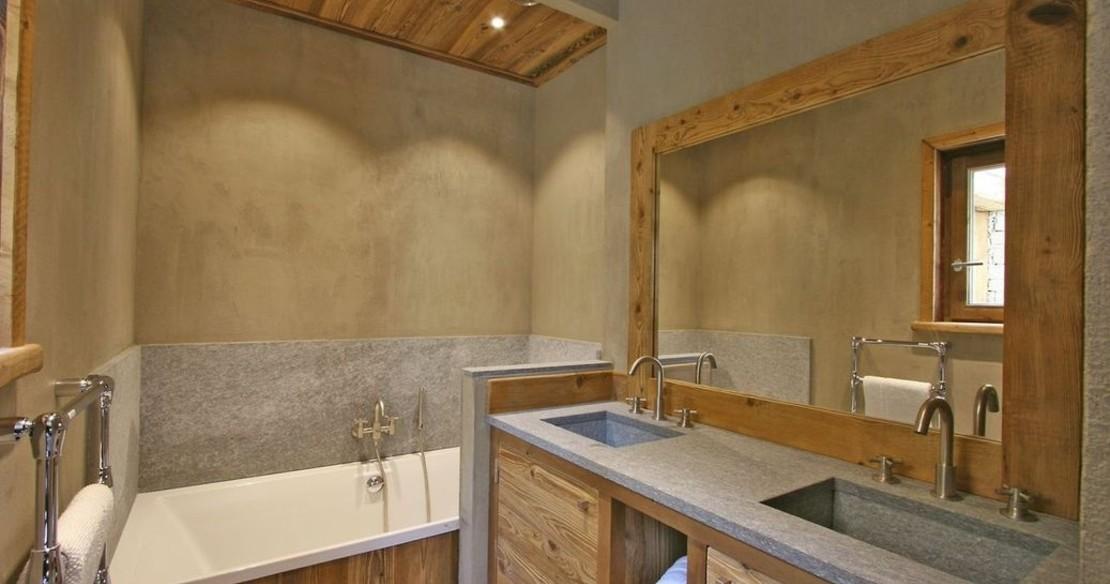 Chalet Dulcis Casu Courchevel Le Praz - bathroom