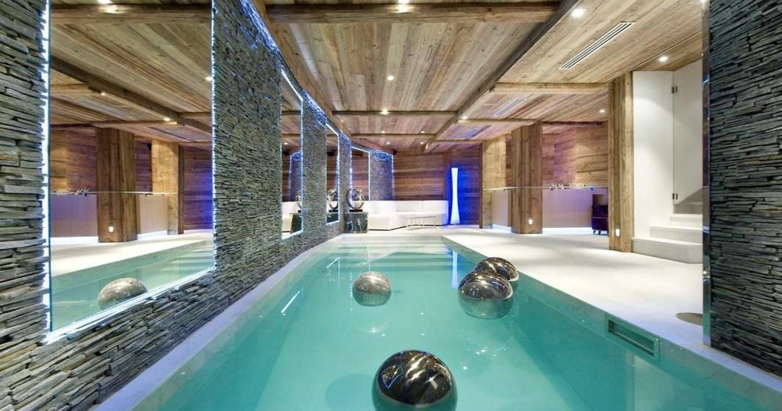 Chalet Eden Courchevel 1850 - swimming pool