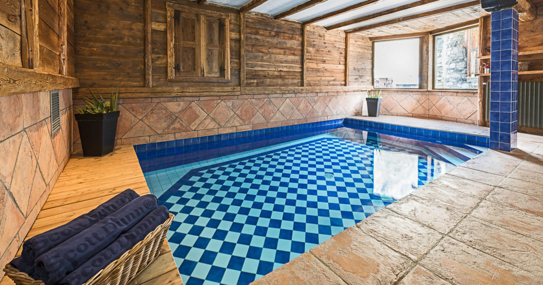 Chalet Pauline - swimming pool
