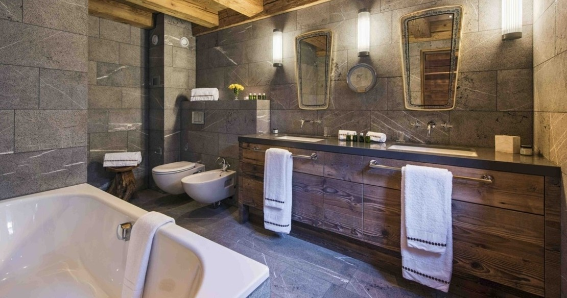 Chalet Place Blanche - bathroom