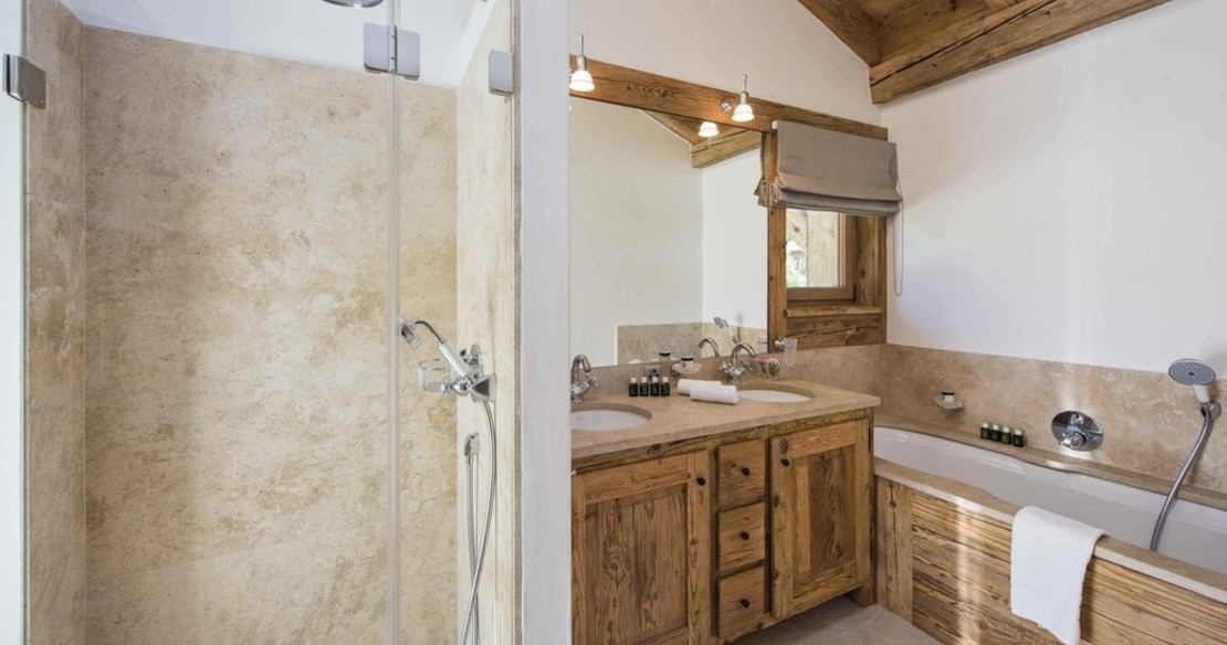 Chalet Sherwood - bathroom