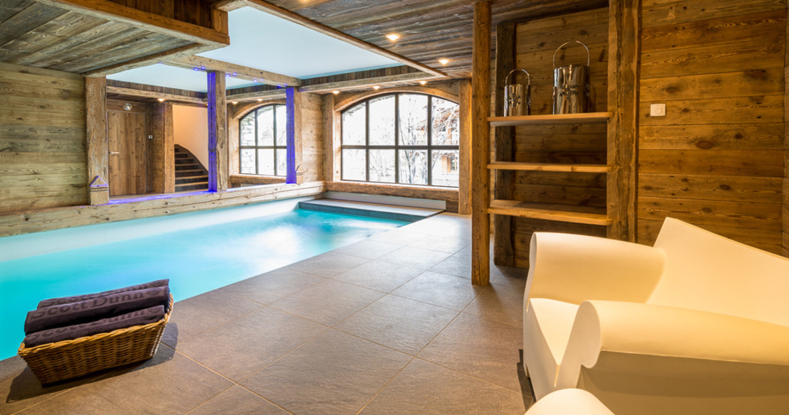 Chalet Face Val d'Isere - swimming pool