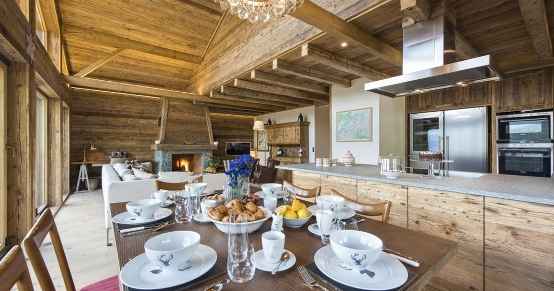 Chalet Toundra - dining room