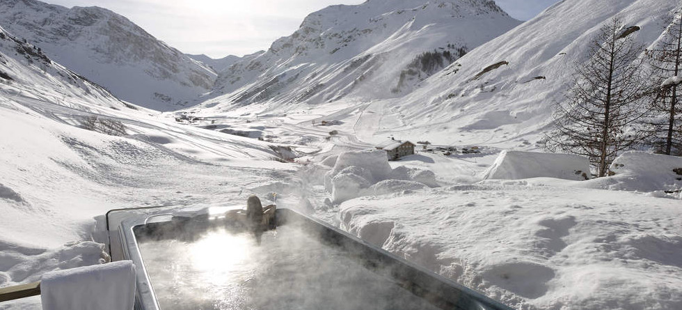 Chalets in Val d'Isere with hot tub - Chalet Chardon