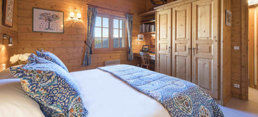 Chalet Founets Amont Courchevel 1850 - bedroom