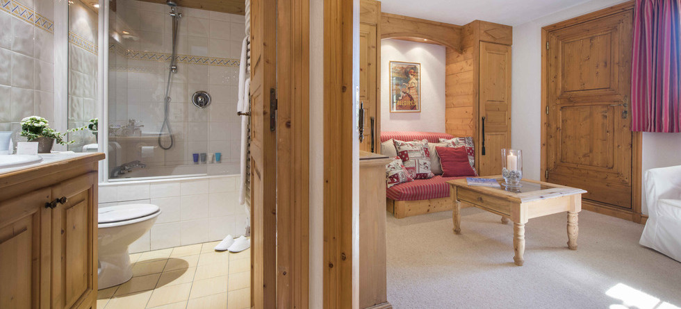 Chalet Founets Amont Courchevel 1850 - bathroom