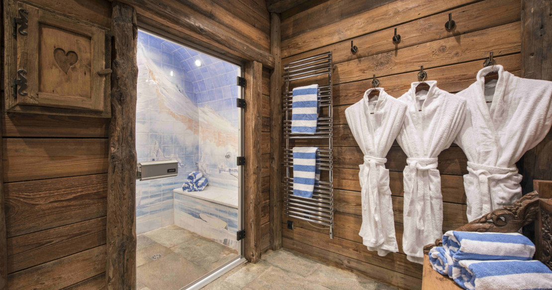 Chalet Montana Courchevel 1850 - spa