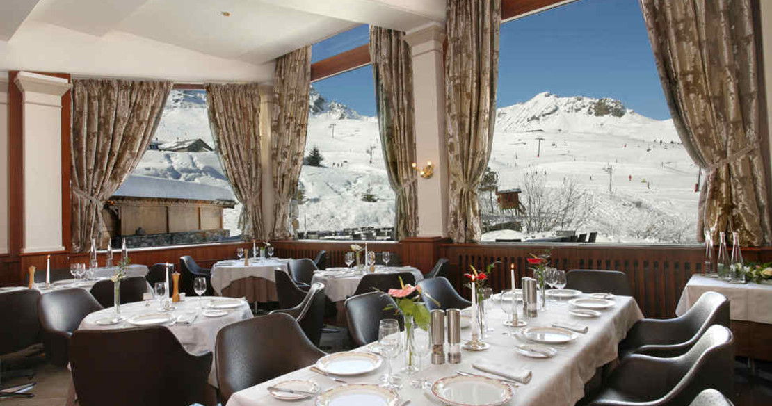 Hotel Annapurna Courchevel 1850 - dining room