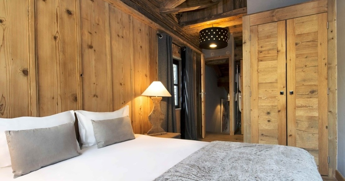 Chalet Rive Gauche Val d'Isere - bedroom
