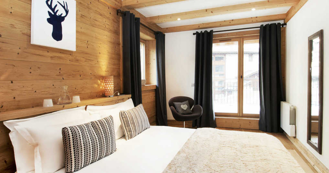 Chalet Grand Sarire Val d'Isere - bedroom