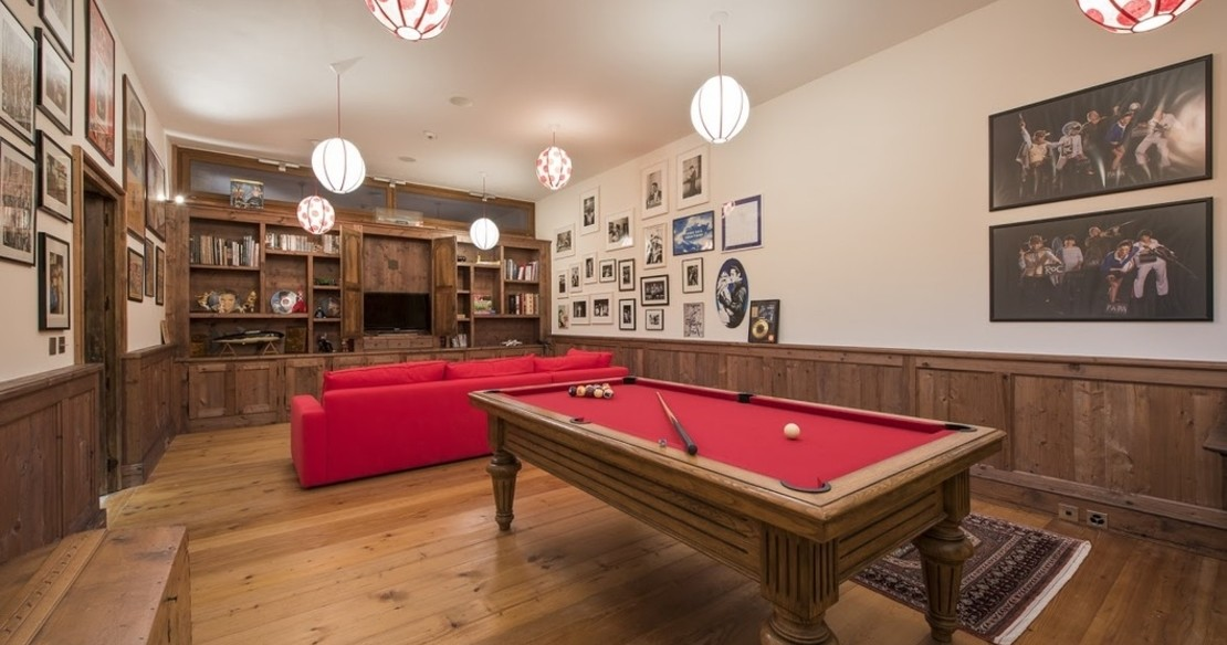 Chalet Orsini Verbier - pool table