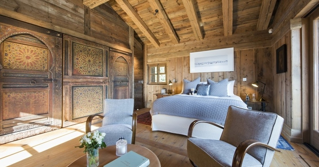 Chalet Orsini Verbier - master double bedroom