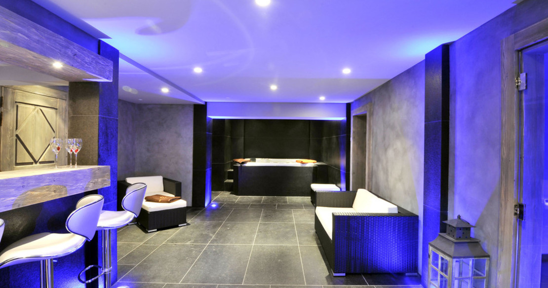 Chalet Tanniere Megeve - spa relax area