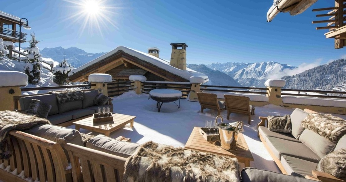 Chalet Chouqui Verbier - view from the terrace