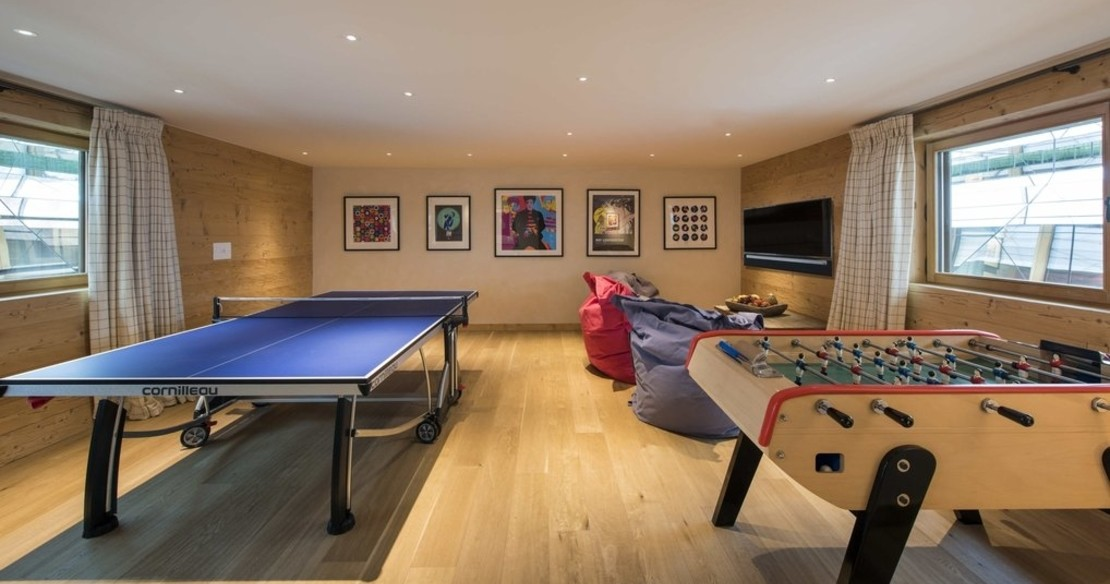 Chalet Chouqui Verbier - children's games room