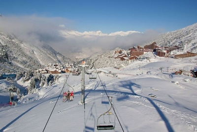 Luxury family ski holidays in Les Arc 2000