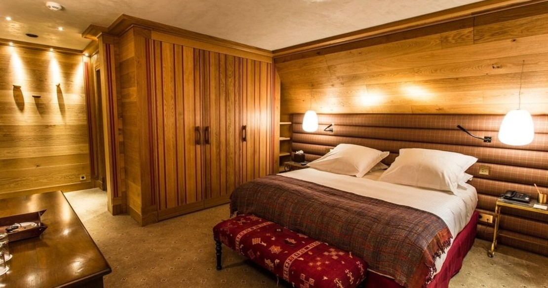 Chalet Chene, Val d'Isere, double bedroom
