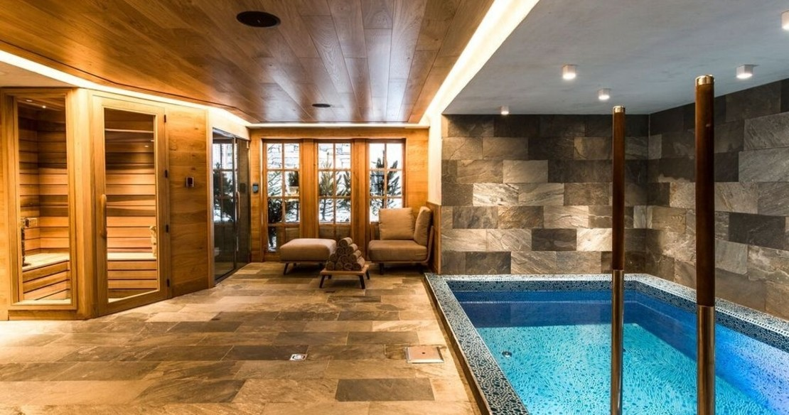 Chalet Chene, Val d'Isere, swimming pool