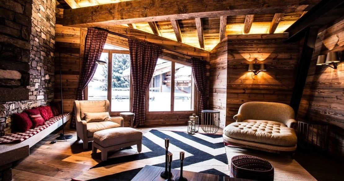 Chalet Chene, Val d'Isere, lounge