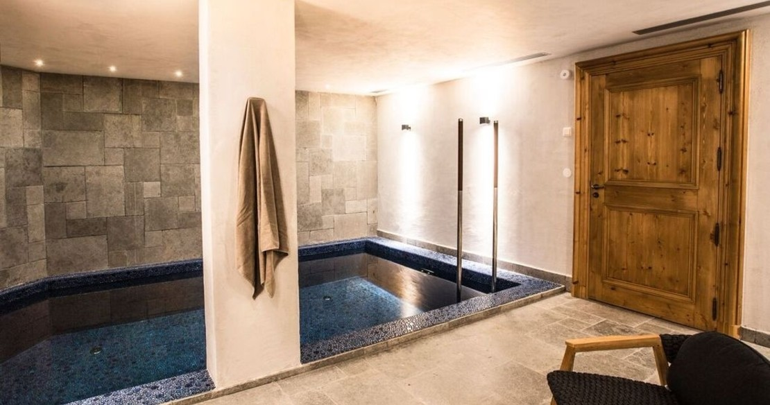 Chalet Ambre, Val d'Isere, swimming pool