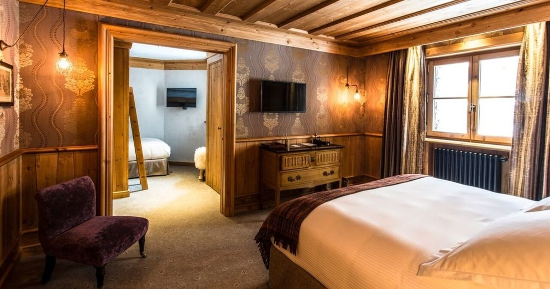 Chalet Ambre, Val d'Isere, double bedroom