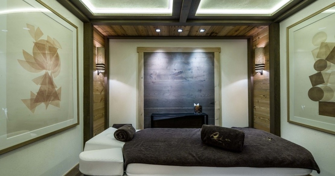 Chalet Nanuq, Courchevel 1850, treatment room
