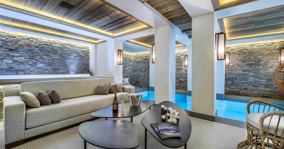 Chalet Cryst'Aile, Courchevel 1850, spa relax