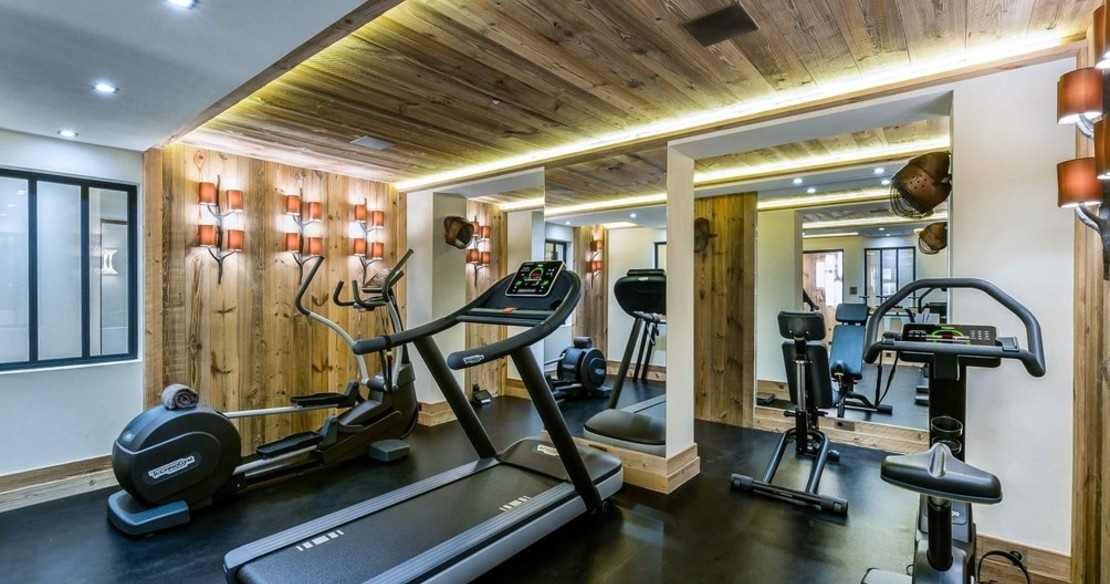 Chalet Cryst'Aile, Courchevel 1850, gym fitness room