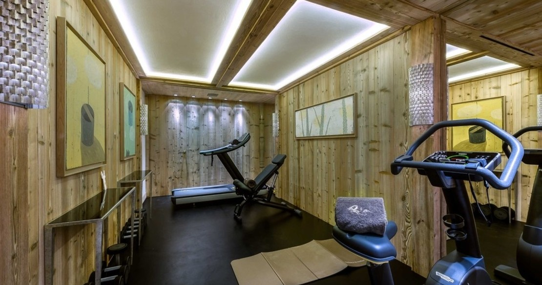 Chalet Nanuq, Courchevel 1850, fitness room