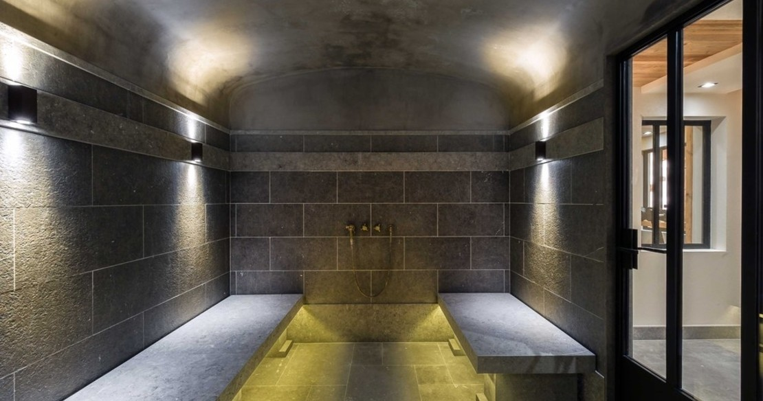 Chalet Cryst'Aile, Courchevel 1850, steam room