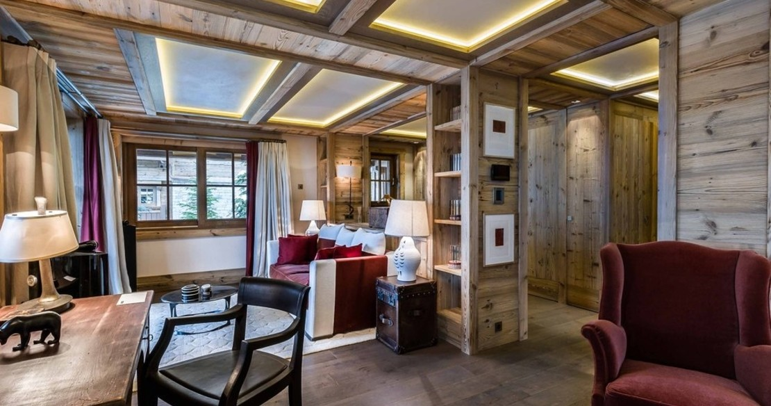 Chalet Bastidons, Courchevel 1850, master bedroom